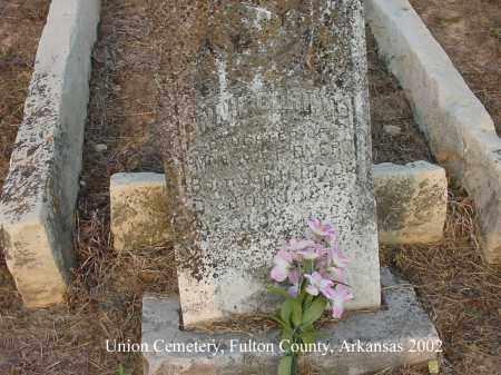 DYER, ANNIE CORINNE - Fulton County, Arkansas | ANNIE CORINNE DYER - Arkansas Gravestone Photos