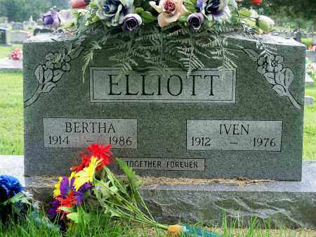 ELLIOTT, BERTHA - Fulton County, Arkansas | BERTHA ELLIOTT - Arkansas Gravestone Photos