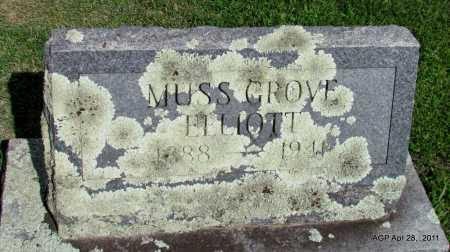 ELLIOTT, MUSS GROVE - Fulton County, Arkansas | MUSS GROVE ELLIOTT - Arkansas Gravestone Photos
