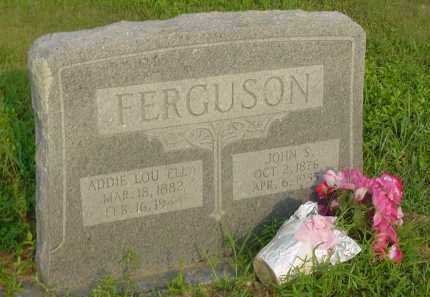 FERGUSON, JOHN SHADRACK - Fulton County, Arkansas | JOHN SHADRACK FERGUSON - Arkansas Gravestone Photos