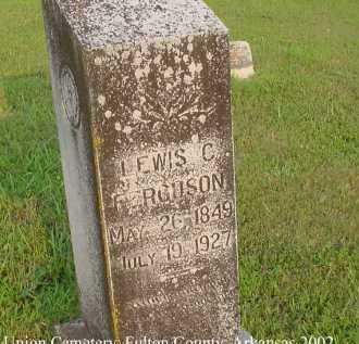 FERGUSON, LEWIS CASS - Fulton County, Arkansas | LEWIS CASS FERGUSON - Arkansas Gravestone Photos