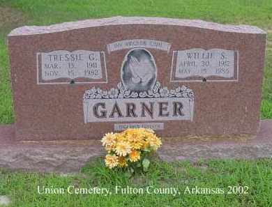 GARNER, TRESSIE G. - Fulton County, Arkansas | TRESSIE G. GARNER - Arkansas Gravestone Photos