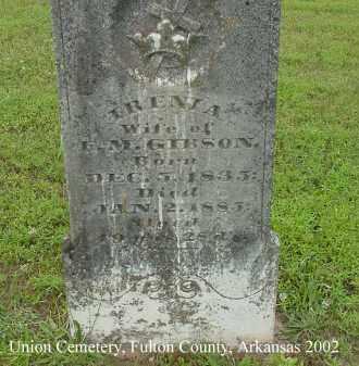 GIBSON, IRENIA - Fulton County, Arkansas | IRENIA GIBSON - Arkansas Gravestone Photos