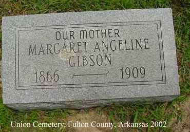 FITZHUGH GIBSON, MARGARET ANGELINE - Fulton County, Arkansas | MARGARET ANGELINE FITZHUGH GIBSON - Arkansas Gravestone Photos