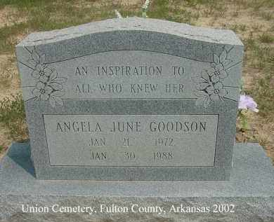 GOODSON, ANGELA JUNE - Fulton County, Arkansas | ANGELA JUNE GOODSON - Arkansas Gravestone Photos