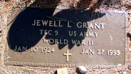GRANT (VETERAN WWII), JEWELL L - Fulton County, Arkansas | JEWELL L GRANT (VETERAN WWII) - Arkansas Gravestone Photos