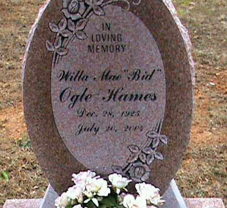 "HAMES, WILLA MAE ""BID"" - Fulton County, Arkansas 