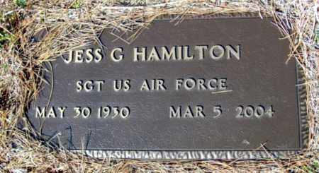 HAMILTON (VETERAN), JESS G - Fulton County, Arkansas | JESS G HAMILTON (VETERAN) - Arkansas Gravestone Photos