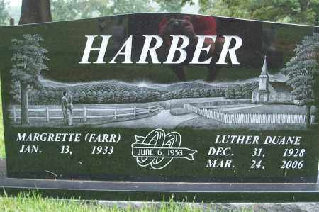 HARBER, LUTHER DUANE - Fulton County, Arkansas | LUTHER DUANE HARBER - Arkansas Gravestone Photos