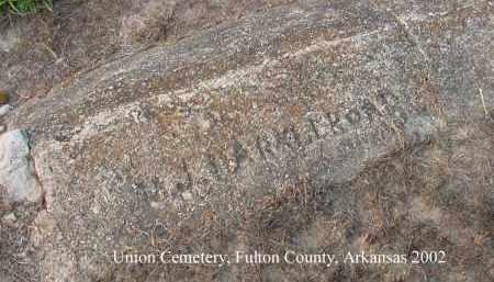 HARKLEROAD, M. J. - Fulton County, Arkansas | M. J. HARKLEROAD - Arkansas Gravestone Photos