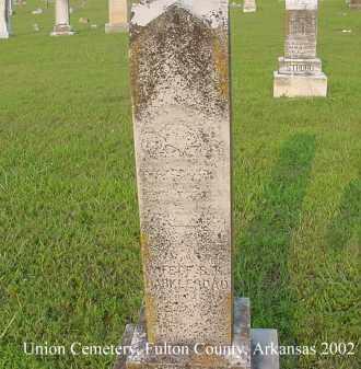 HARKLEROAD, MARTHA - Fulton County, Arkansas | MARTHA HARKLEROAD - Arkansas Gravestone Photos