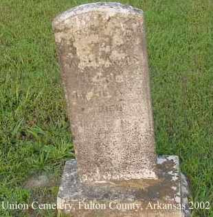 HARRIS, REBECCA E. - Fulton County, Arkansas | REBECCA E. HARRIS - Arkansas Gravestone Photos