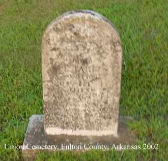HARRIS, W. J. - Fulton County, Arkansas | W. J. HARRIS - Arkansas Gravestone Photos