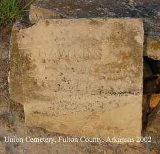 HAWKINS, _____ L. - Fulton County, Arkansas | _____ L. HAWKINS - Arkansas Gravestone Photos