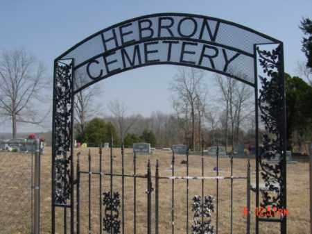 *HEBRON CEMETERY GATE,  - Fulton County, Arkansas |  *HEBRON CEMETERY GATE - Arkansas Gravestone Photos