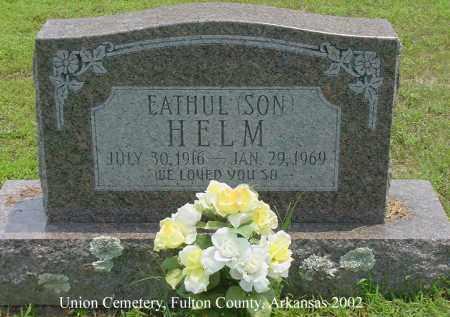 HELM, EATHUL - Fulton County, Arkansas   EATHUL HELM - Arkansas Gravestone Photos