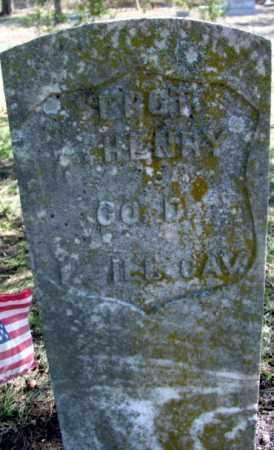 HENRY (VETERAN UNION), HENRY A - Fulton County, Arkansas   HENRY A HENRY (VETERAN UNION) - Arkansas Gravestone Photos