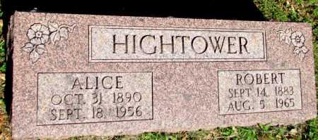 EVANS HIGHTOWER, ALICE - Fulton County, Arkansas | ALICE EVANS HIGHTOWER - Arkansas Gravestone Photos