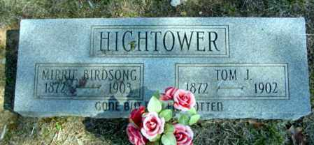 HIGHTOWER, MERRIE BIRDSONG - Fulton County, Arkansas | MERRIE BIRDSONG HIGHTOWER - Arkansas Gravestone Photos