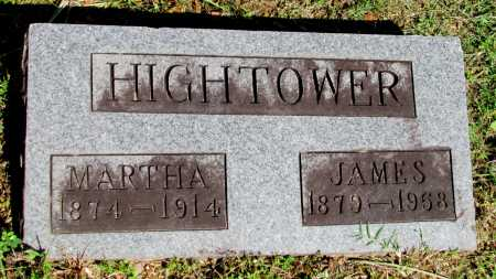 FRAZIER HIGHTOWER, MARTHA ANNE - Fulton County, Arkansas | MARTHA ANNE FRAZIER HIGHTOWER - Arkansas Gravestone Photos