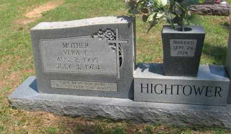 HIGHTOWER, VERA LOU - Fulton County, Arkansas | VERA LOU HIGHTOWER - Arkansas Gravestone Photos