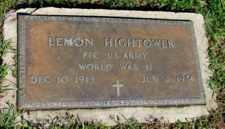 HIGHTOWER (VETERAN WWII), LEMON - Fulton County, Arkansas | LEMON HIGHTOWER (VETERAN WWII) - Arkansas Gravestone Photos