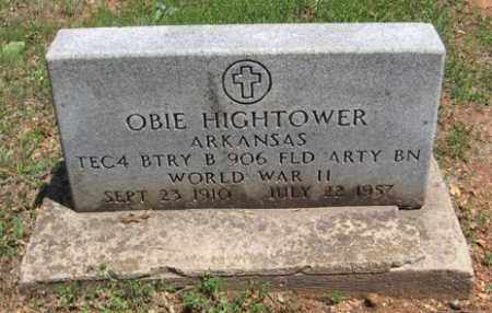 HIGHTOWER (VETERAN WWII), OBIE - Fulton County, Arkansas | OBIE HIGHTOWER (VETERAN WWII) - Arkansas Gravestone Photos