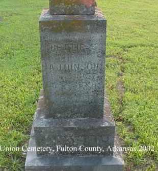 HINSON, BETTIE E. - Fulton County, Arkansas | BETTIE E. HINSON - Arkansas Gravestone Photos