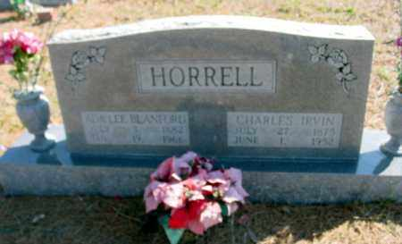 HORRELL, CHARLES IRVIN - Fulton County, Arkansas | CHARLES IRVIN HORRELL - Arkansas Gravestone Photos