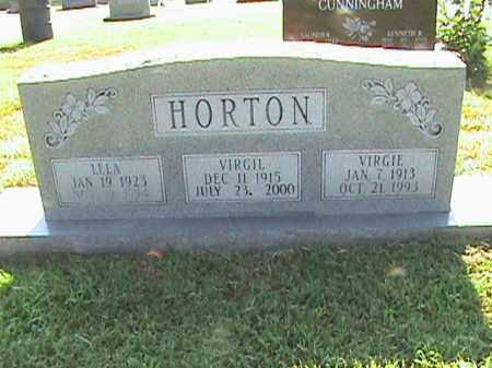 HORTON, VIRGIE - Fulton County, Arkansas | VIRGIE HORTON - Arkansas Gravestone Photos
