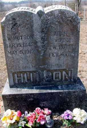 "HUTSON, ISAAC ""WALK"" WALKER - Fulton County, Arkansas | ISAAC ""WALK"" WALKER HUTSON - Arkansas Gravestone Photos"