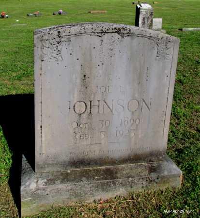 JOHNSON, JOE L - Fulton County, Arkansas | JOE L JOHNSON - Arkansas Gravestone Photos