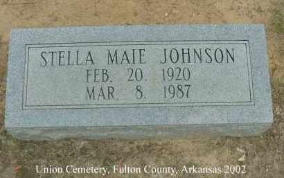 JOHNSON, STELLA MAIE - Fulton County, Arkansas | STELLA MAIE JOHNSON - Arkansas Gravestone Photos