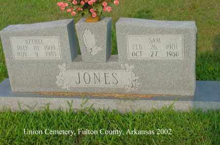 BRAY JONES, BETHEL ARDIS - Fulton County, Arkansas | BETHEL ARDIS BRAY JONES - Arkansas Gravestone Photos