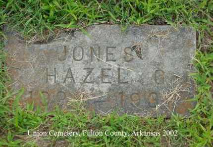 JONES, HAZEL G. - Fulton County, Arkansas | HAZEL G. JONES - Arkansas Gravestone Photos