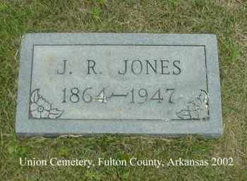 JONES, J. R. - Fulton County, Arkansas | J. R. JONES - Arkansas Gravestone Photos