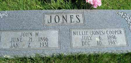 JONES, NELLIE - Fulton County, Arkansas | NELLIE JONES - Arkansas Gravestone Photos