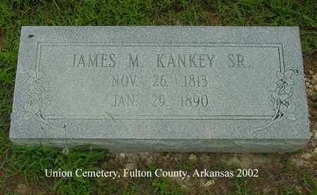 KANKEY, JAMES MONTGOMERY, SR. - Fulton County, Arkansas | JAMES MONTGOMERY, SR. KANKEY - Arkansas Gravestone Photos