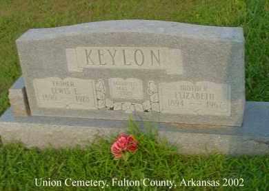 KEYLON, LEWIS EMITT - Fulton County, Arkansas | LEWIS EMITT KEYLON - Arkansas Gravestone Photos
