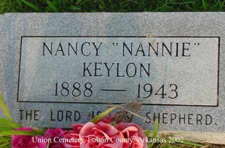 "KEYLON, NANCY D. ""NANNIE"" - Fulton County, Arkansas 