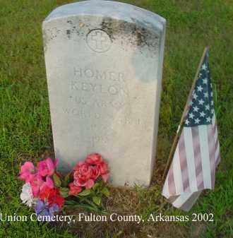 KEYLON  (VETERAN WWI), WALKER HOMER - Fulton County, Arkansas | WALKER HOMER KEYLON  (VETERAN WWI) - Arkansas Gravestone Photos