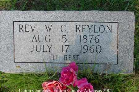 KEYLON, WILLIAM CHAMPION, REV. - Fulton County, Arkansas | WILLIAM CHAMPION, REV. KEYLON - Arkansas Gravestone Photos