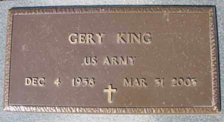 KING (VETERAN), GERY - Fulton County, Arkansas | GERY KING (VETERAN) - Arkansas Gravestone Photos