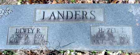 "TRYON LANDERS, MARY AZUBAH ""HAZEL"" - Fulton County, Arkansas 