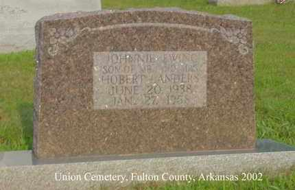 LANDERS, JOHNNIE EWING - Fulton County, Arkansas | JOHNNIE EWING LANDERS - Arkansas Gravestone Photos