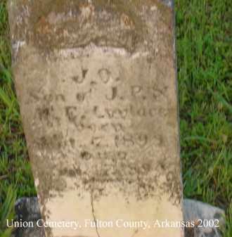 LOVELACE, J. O. - Fulton County, Arkansas | J. O. LOVELACE - Arkansas Gravestone Photos