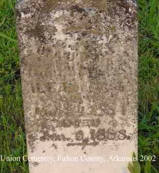 LOVELACE, MAUD G. - Fulton County, Arkansas | MAUD G. LOVELACE - Arkansas Gravestone Photos