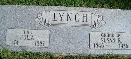 LYNCH, SUSAN R. - Fulton County, Arkansas | SUSAN R. LYNCH - Arkansas Gravestone Photos