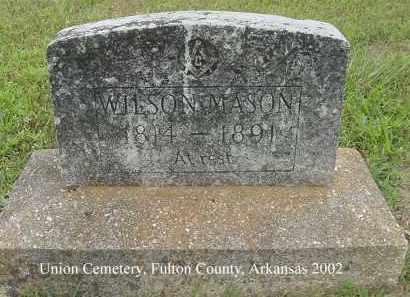 MASON, WILSON - Fulton County, Arkansas | WILSON MASON - Arkansas Gravestone Photos
