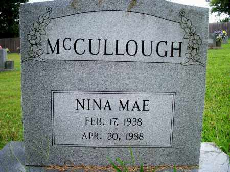 POGUE MCCULLOUGH, NINA MAE - Fulton County, Arkansas | NINA MAE POGUE MCCULLOUGH - Arkansas Gravestone Photos